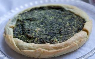 Ricetta torta rustica di spinaci, ricotta e porri