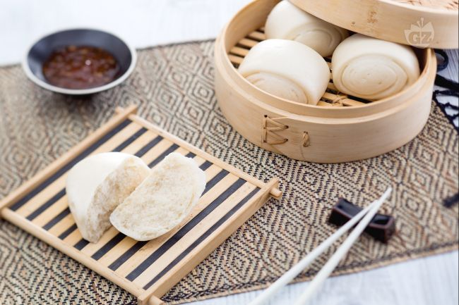 Ricetta panini cinesi al vapore (mantou)