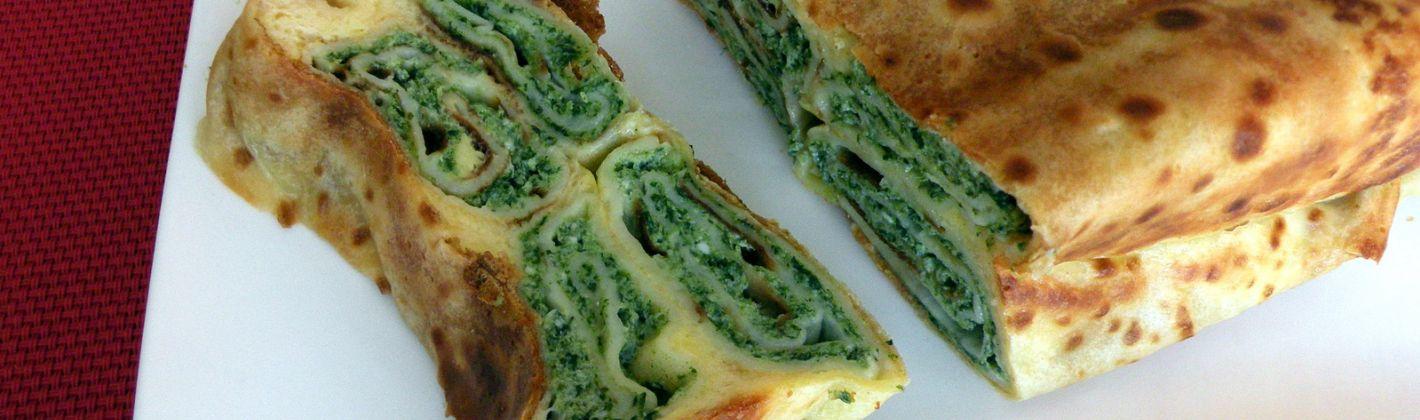 Ricetta torta salata di spinaci in pasta fillo