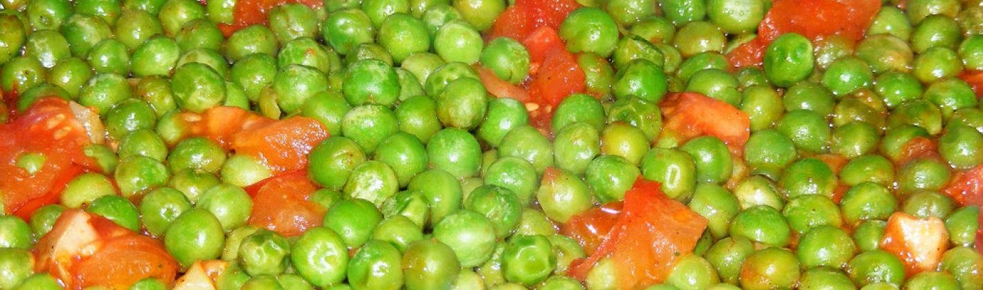 Ricetta piselli al pomodoro