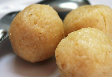 Ricetta palline di riso con acciughe e formaggio