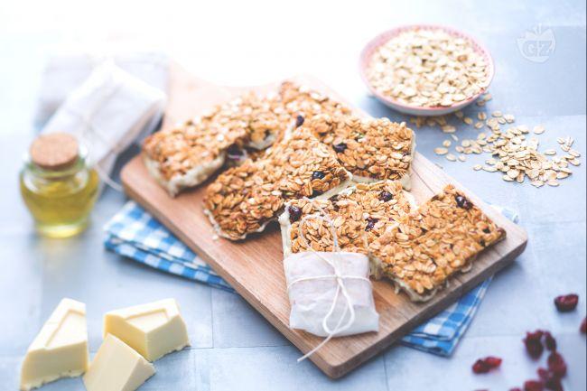Ricetta barrette snack di frutta e cereali