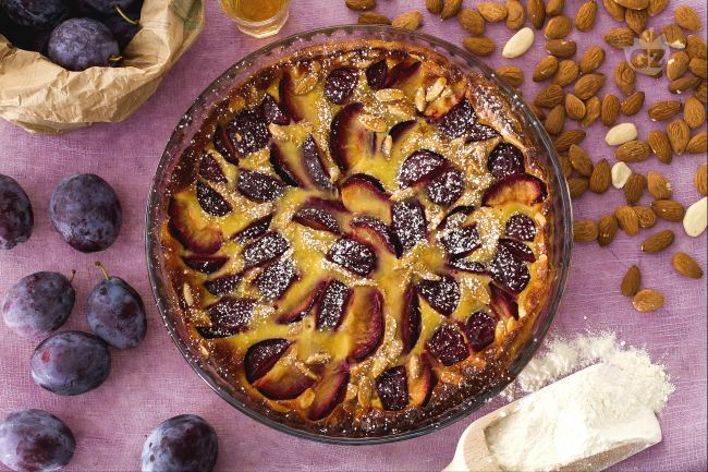 Ricetta clafoutis alle prugne
