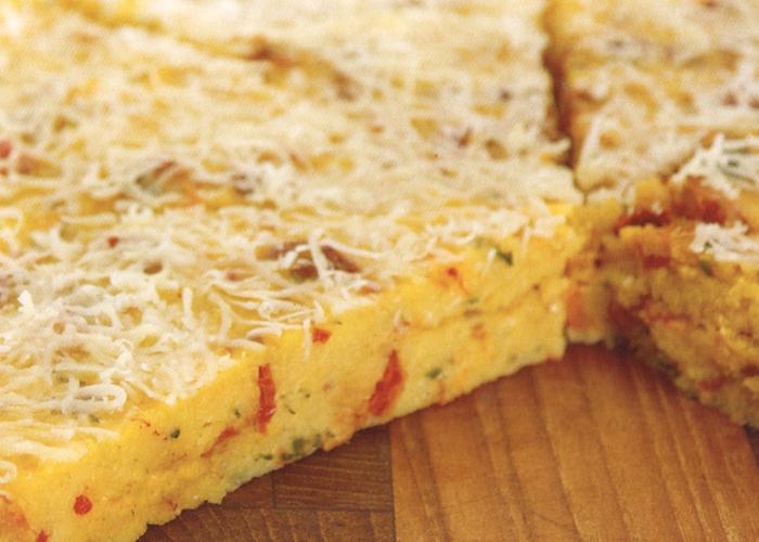 Tortino di polenta