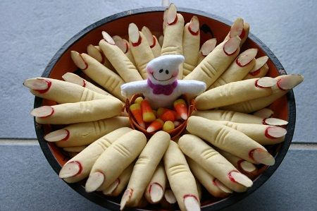 Ricetta biscotti a forma di dita mozzate
