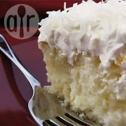 Poke cake al cocco