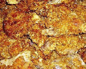 Ricetta funghi impanati e passati al forno