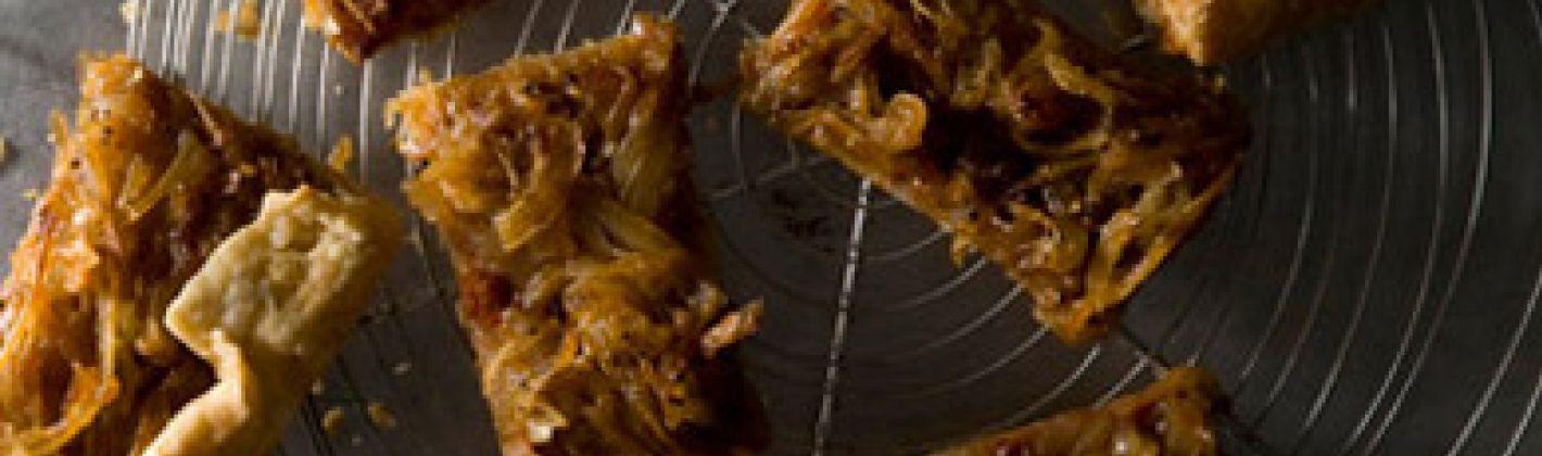 Ricetta torta rustica di cipolle senza lievito