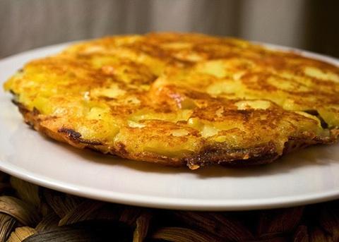 Frico con patate