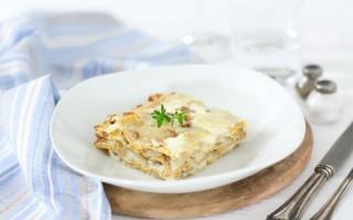 Ricetta lasagne di petra 9 con topinambur e salsiccia