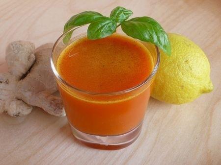 Ricetta succo di carote
