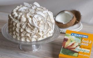 Ricetta torta al caramello e cocco