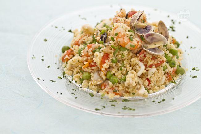 Ricetta couscous ai frutti di mare