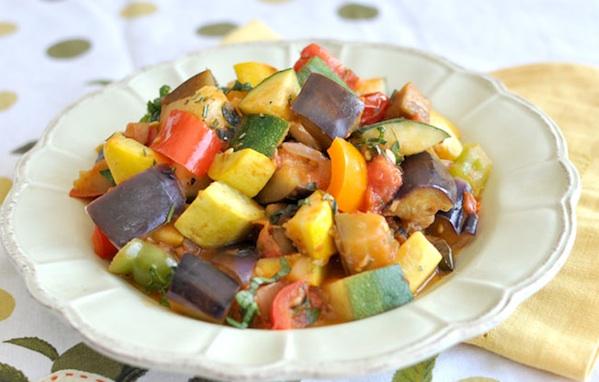 Ratatouille di verdure all'indiana