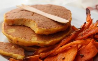 Ricetta frittelle di zucca con carote al cumino