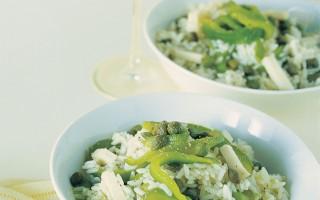 Ricetta insalata di riso ai filetti di peperoni e fontina