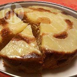 Torta rovesciata con ananas fresco
