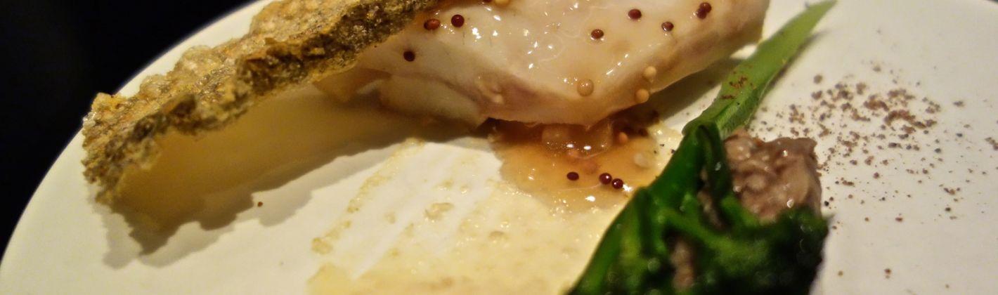 Ricetta coda di rospo o rana pescatrice al pepe verde