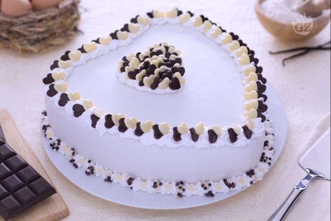 Ricetta torta cuore