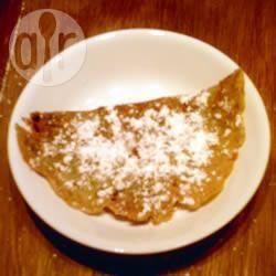Pastella per crepes dolci con lievito