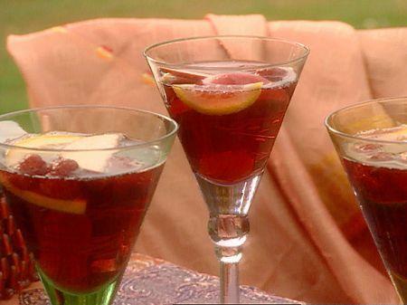 Ricetta sangria al vino rosè