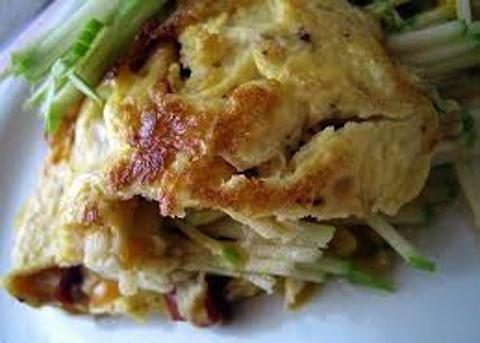 Omelette alla caprese