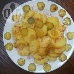 Insalata di patate cetrioli e paprika dolce