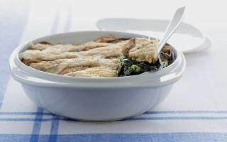 Ricetta gratin di spinaci alla fontina