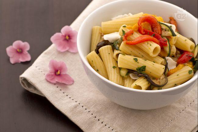 Ricetta pasta con verdure grigliate