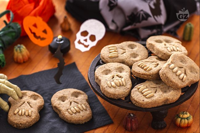 Ricetta biscotti teschio