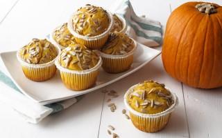 Ricetta muffin alla zucca con cuore di gorgonzola