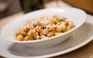 Ricetta minestrone di fagioli con ditalini di farro