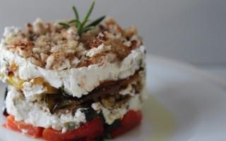 Ricetta peperoni, robiola e pane al rosmarino