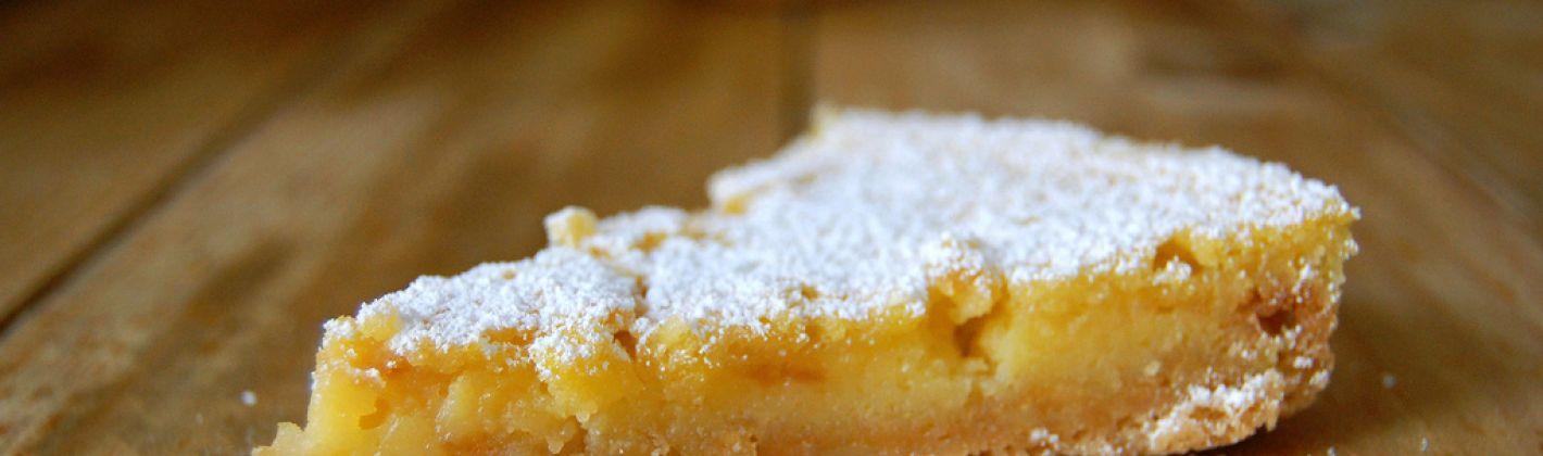 Ricetta torta magica al limone