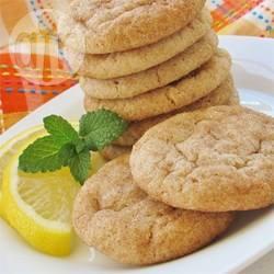 Biscotti al limone e cannella