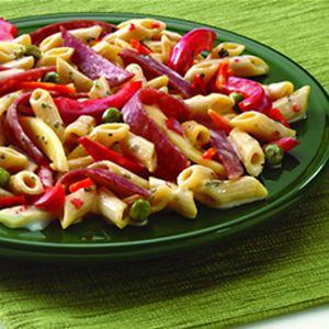 Ricetta pasta al salame piccante